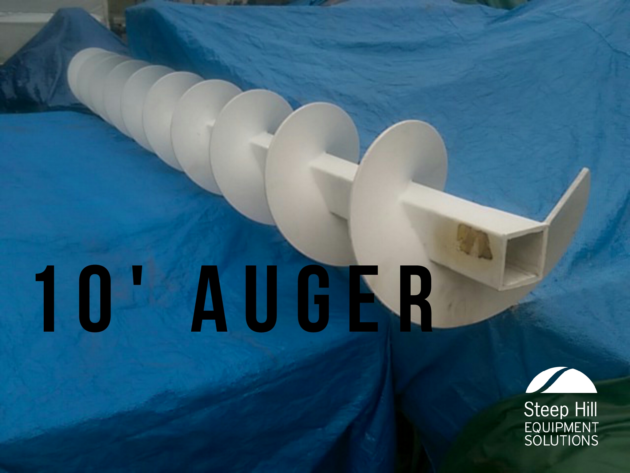 10 Plastic Auger Steep Hill Equipment Solutions