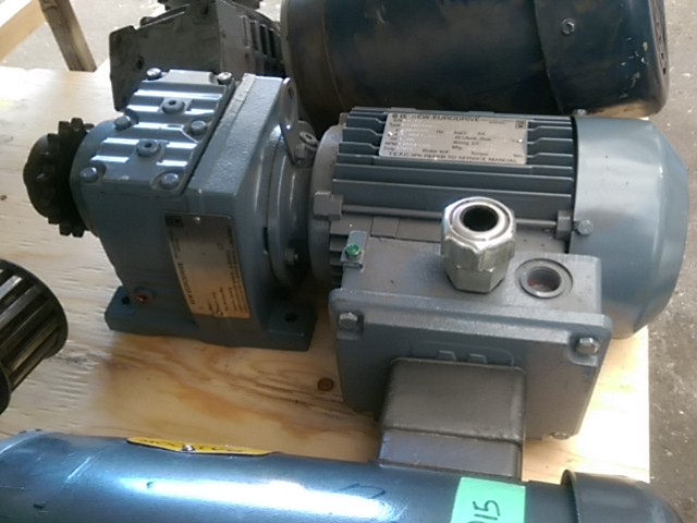 Sew eurodrive 1hp motor with gearbox steep hill for Sew motors and drives