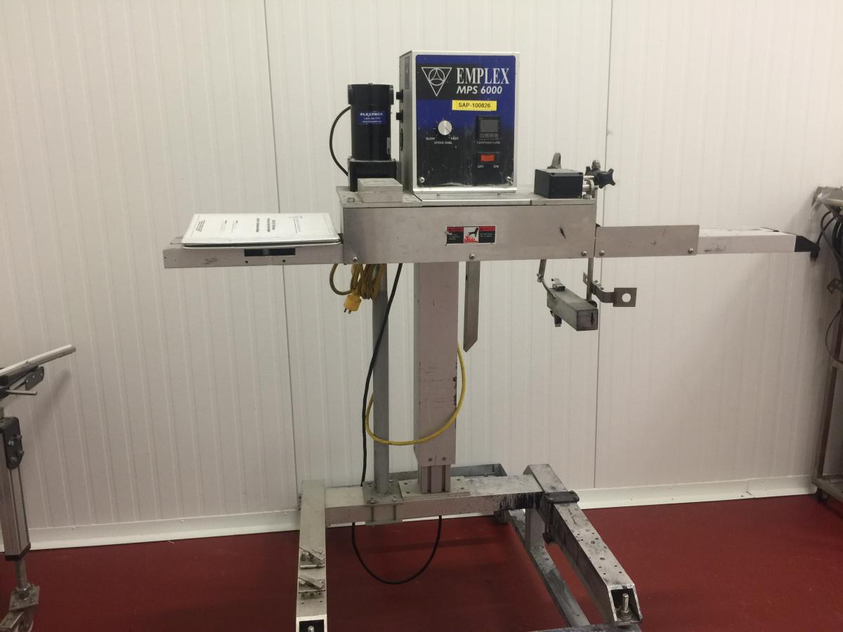 Emplex Mps 6000 Continuous Rotary Band Sealer Steep Hill