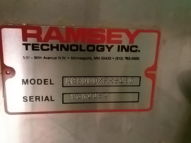 Ramsey Icore Autocheck 8000 Scale Steep Hill Equipment