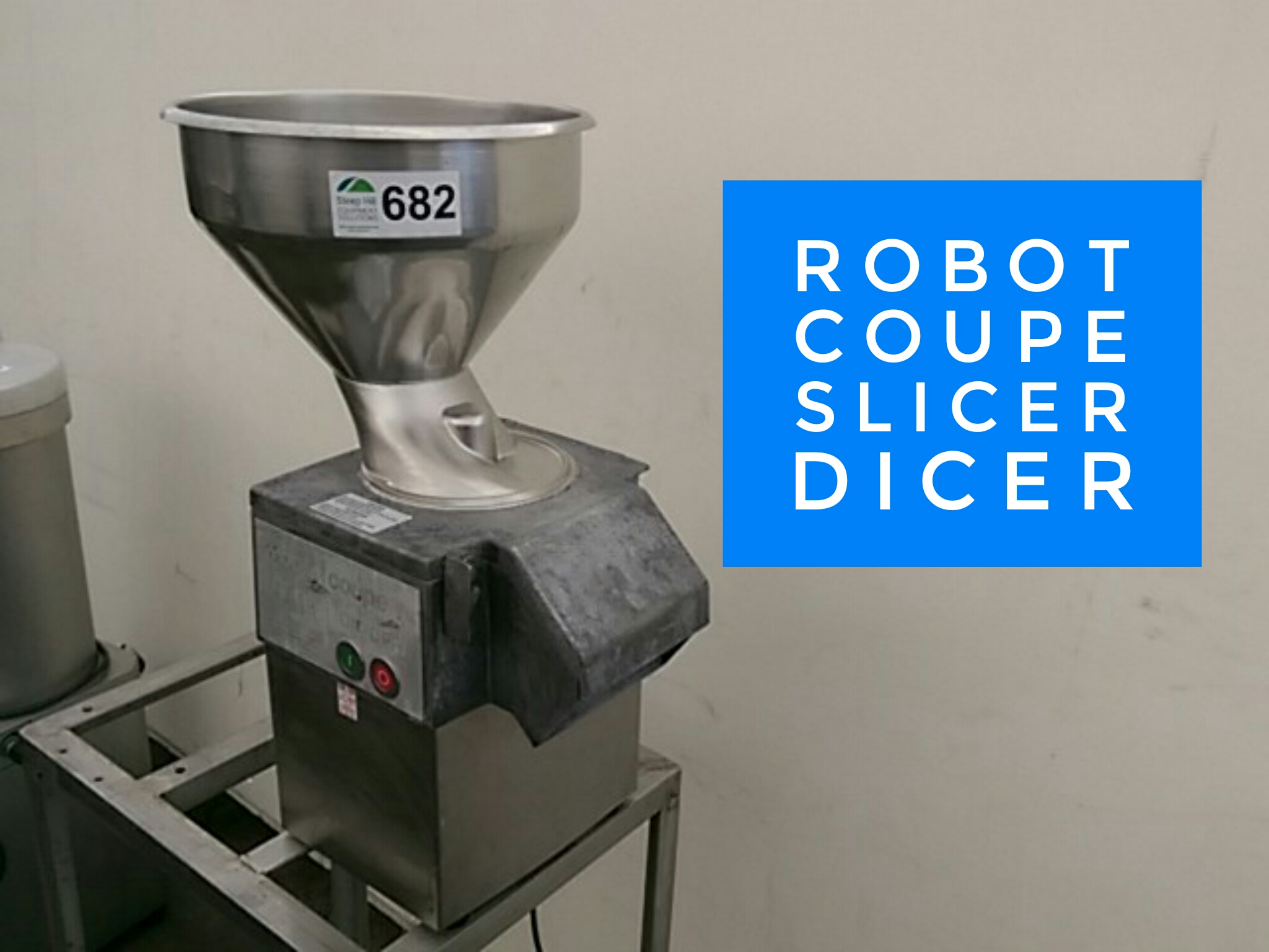 Robot Coupe Cl55 Auto Vegetable Slicer Steep Hill