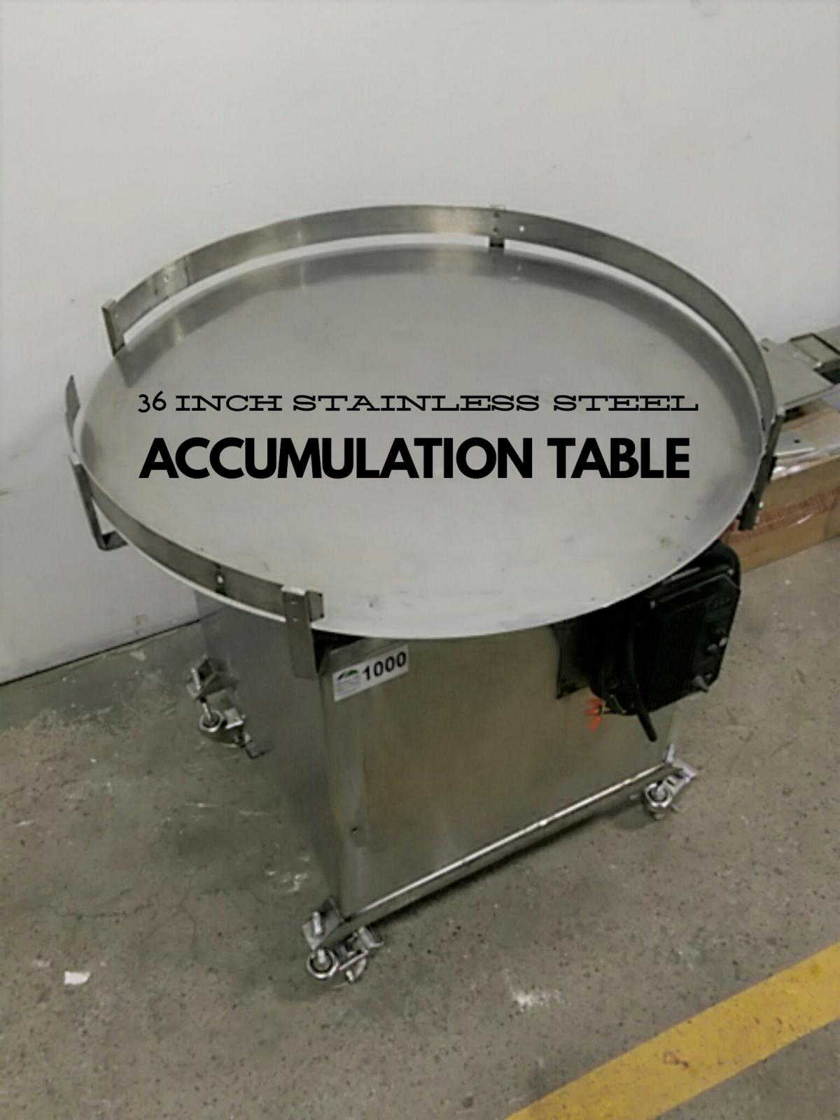 36 Quot Accumulation Table Steep Hill Equipment Solutions