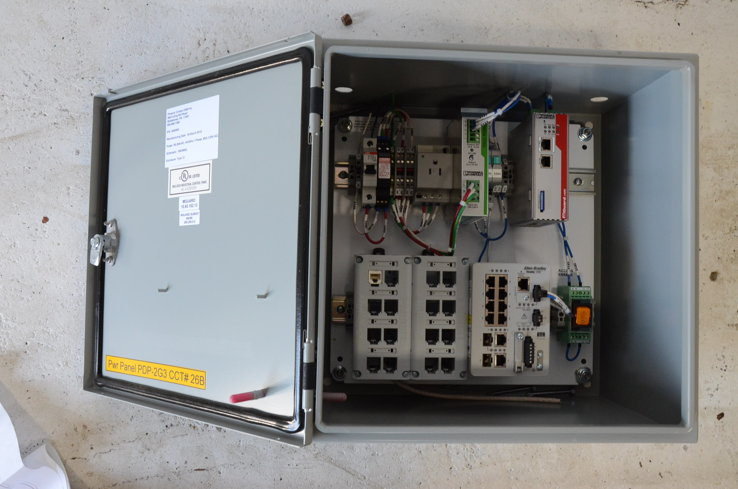 Phoenix Contact Complete Electric Box Steep Hill Equipment Solutions Wiring Circuit