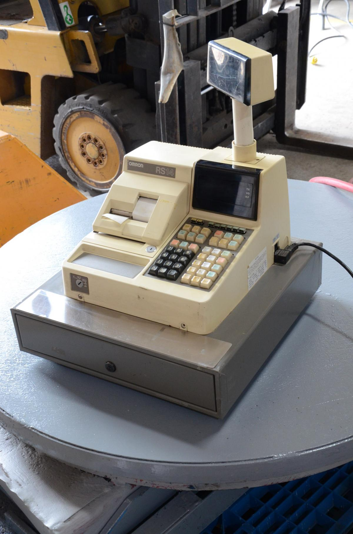 Omron R514 Cash Register Steep Hill Equipment Solutions